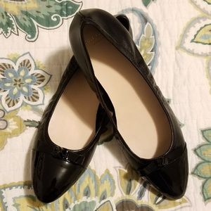 Cole Haan NWOB Classic Black Flats